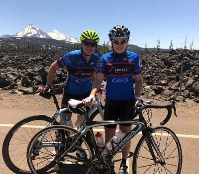 May bike endurance training in the Northwest