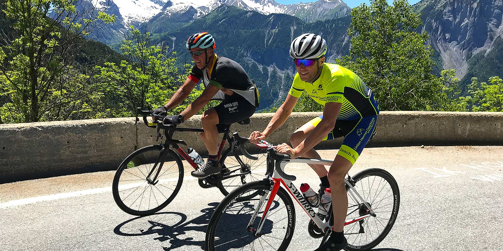 France cycling training camp Brian and Chris Horner