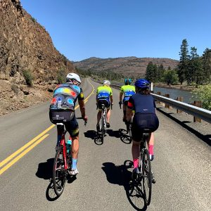 Painted hills cycling camp