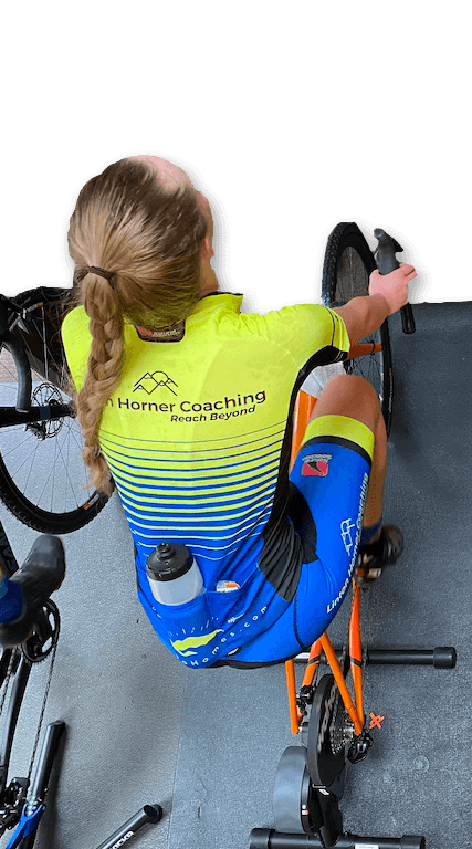 Virtual cycling workout with Linton Horner Coaching